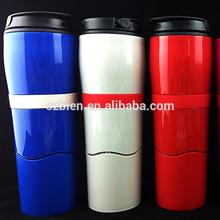 Dexam Mighty Mug Travel Mug 'the mug that won't fall over' Thermos in Charcoal Black