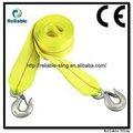 Cuerda de remolque/correa de remolque/remolque de acero/de nylon/elastic2-5t