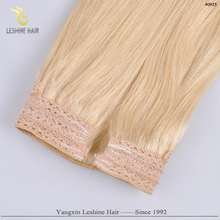 Best Colored High Quality Products Hot sale halo Hair Extensions #613 Light Blonde