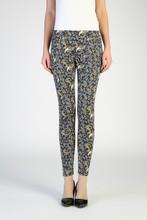ladies fashion printed stretch pants