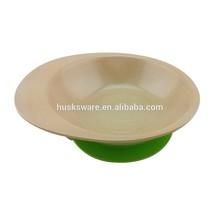 rice husks fibre 100% biodegradable eco friendly kid's dinner plate
