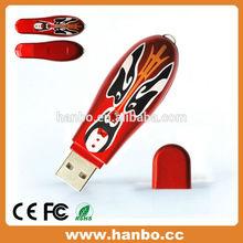 2015 bulk cheap cook shape 64MB plastic usb flash memory stick