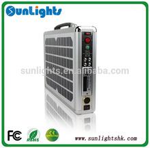 Built-in Solar Panels portable solar power system solar energy system solar power bank