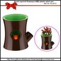 plásticos decorativos vasos para plantas coloridos vasos de flores no atacado
