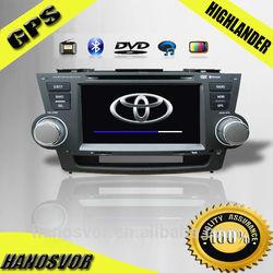 In Dash Navigation For Toyota Highlander Inch Double-DIN Car DVD Player & In Dash Navigation System