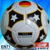 official size rubber bladder footballs