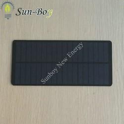 9V 200mA Small Solar Panel with Round Corner