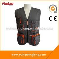 KingLong Multi Pockets Fishing South America Style Vest