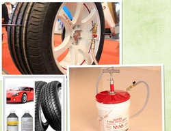 Sealants for punctured tyre/tire from United Kingdom technology