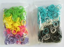 DIY colorful unisex bracelets loom china oem rubber bands