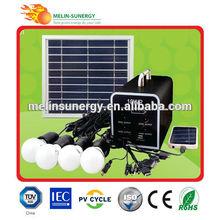 Portable 12v kit solar photovoltaic for home
