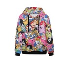 Modern design Fashion anime hoodies adventure time 3D printed hooded sweatshirt