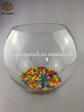 Cheap round glass fish bowl, fish ball wholesale