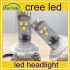 high power led headlight bulb h7 20w/30w/40w cree led headlight