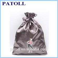 Popular confortable silk drawstring bag