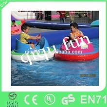 kids inflatable bumper boat, aqua boat, water bumper boat