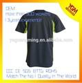Buena calidad de hombre de reflexivo de la seguridad de la camiseta, Alta visibilidad de la camiseta