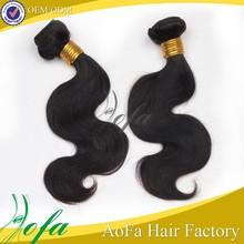 Aliexpress hair hot selling unprocessed virgin human bobbi boss hair weft