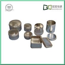 round metal gift tin box