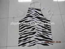 kitchen cotton apron &printed bib apron,chef apron,customized logo cooker apron
