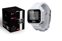Portable wireless paging system, wrist watch pager for hospital Use