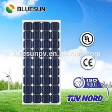 Bluesun factory whole sale 100W 12V solar cells modules