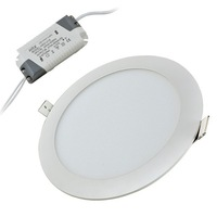 Round 10 inch ceiling led panel downlight 24w