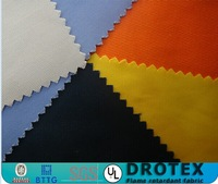 Multi--functional textile fabric EN1149-3 270 gram 100% cotton flame retardant and anti-static fabric for safety clothing o