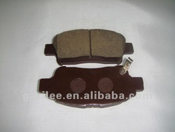 D2174 brake pads for Toyota Platz and Yaris