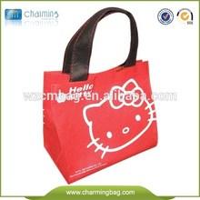 Eco friendly pp non woven shopping bags/non-woven bag/cute hello kitty bag made in China