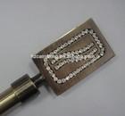 Good quality diamond curtain rod curtain pole curtainaccessories