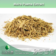 GMP Manufacturer Supply Muira Puama Herb Extract In 3W Factory