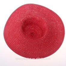 Handmade Natural Stylish Wide Brim Ladies Paper Sun Straw Hats