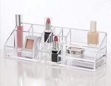 acrylic organizer for cosmetics/clear acrylic organizer wholesale
