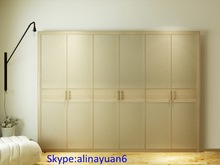 Fashion laminate Swing wardrobe , bedroom clost sets, 2014 bedroom furniture
