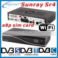 Sunray sr4 triple tuner wifi sunray sr4 v2