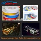 PVC Material 47.5m*1cm/1.5cm/2cm Width for Car Decoration 3m Reflective Vinyl Tape Rolls
