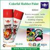Easy peel off liquid rubber spray