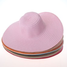 Natural Stylish Wide Brim Ladies Sun Protection Hats Manufacturer