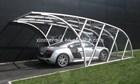 Aluminium single carport