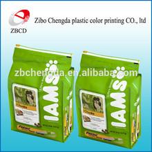 Factory direct sale side gusset dog food packaging bag