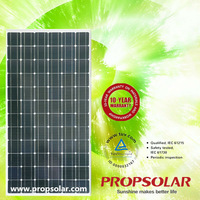 solar pv module 195w For Home Use W ith CE,TUV,UL,MCS Certificates