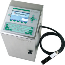 Hot selling semi-automatic rottwell code printer
