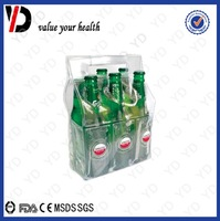 6 pack PVC wine cooler bag