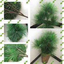 fiberglass artificial pine tree needle leaves