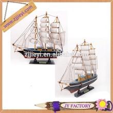 christmas trang trí mô hình bằng gỗ thủ công thuyền mô hình cho quà tặng