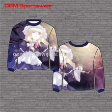 Plus sizes clothing sublimated women sweaters