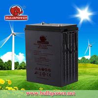 Latest hotsale 6v 310ah solar panel with integrated battery solar cell battery 24v lead acid battery BPD6-310
