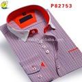 أحدث تصميم قميص الوقوف طوقشعور مصانع الملابس في الصين