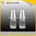 250ml diseñado de fantasía de vidrio botella de leche de coco